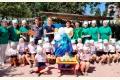 Спортивно – музыкальный праздник «День рождения Водяного» в МДОУ «Комсомольский ясли – сад «Тополек»
